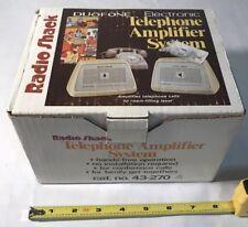 Vintage Radio Shack 2 Station Intercom System  Model 43-270. NOS