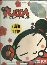 DVD + LIVRE - PUCCA : FUNNY LOVE ( DESSIN ANIME - NEUF EMBALLE )