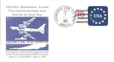 PEGASUS MULTIMISSION PAYLOAD FIRST OPERATIONAL FLIGHT 4/5/1990 EDWARDS AFB
