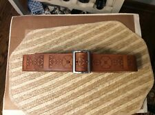 Timberland Womens Belt Brown M Leather