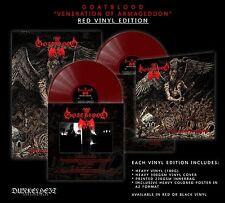 Goatblood-veneration of Armageddon + poster, red edition (GER), LP