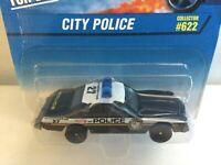 Hot Wheels CITY POLICE - 1997 #622 - Buick Regal POLICE CAR - CHINA Corgi Cast