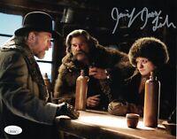 JENNIFER JASON LEIGH Signed HATEFUL EIGHT Daisy 8x10 Full Autograph JSA COA