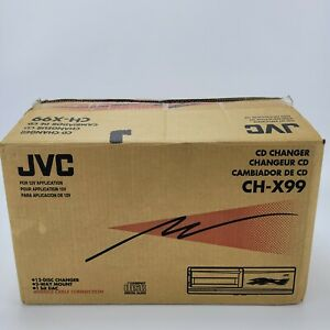 JVC 12 Compact Disc Automatic Changer W/ Anti-Vibration Technology Model CH-X99