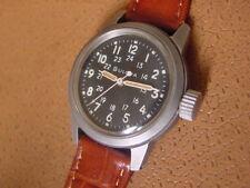 Vintage Bulova Military Issue Wrist Watch .... MIL W 3818A ..... Cal. 10BNCH