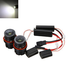 80W Error Free LED Angel Eyes Halo Ring Light Bulbs For BMW E39 E53 E60 E63 New