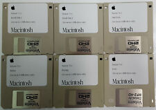 Apple Macintosh System 7.0.1 Complete Set of 1.4M Install Disks for Classic Macs