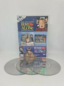 HOME ALONE 1, 2 & 3 (Triple Movie Pack) DVD Region 4 Movie Very Good Condition