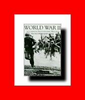 MILITARY BOOK:WORLD WAR II(2)A COMPLETE PHOTOGRAPHIC HISTORY 2500+PHOTOS & MAPS!
