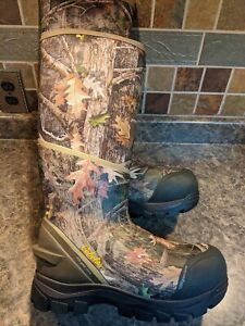 NEW MENS RUBBER COMFORT TRAC Cabela's  BOOTS 1200g ZONED  Size 9