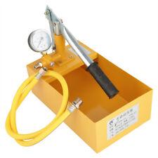 25KG 2.5Mpa Manual Wasserdruck Abdrückpumpe Prüfpumpe Druckprüfpumpe Befüllpumpe