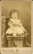 Victorian Carte de visite - YOUNG CHILD - FASHION - Sibley of London
