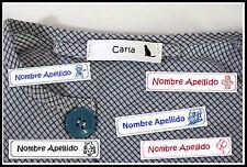 30 Etiquetas para marcar la ropa (personalizadas). Pegado con plancha.