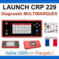 Launch CRP 229 - Valise Diagnostic PRO MULTIMARQUES - Multidiag Autel ELM COM