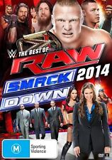WWE - Best Of Raw Smackdown 2014 (DVD, 2015, 3-Disc Set) New  Region 4