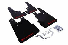 Rally Armor Black Mud Flap w/ Red Logo For 14+ Subaru Forester