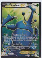 Scarhino EX Full Art - XY:Poings Furieux-105/111 - Carte Pokemon Neuve Française