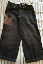 New sz 4 PIRATE Ship JEANS 4t black Disney Store  of the Caribbean