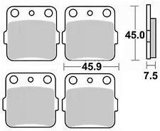 Jeu 4 plaquettes de frein Avant gauche+droit YAMAHA YFM 660 R RAPTOR 01-05