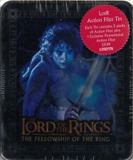 THE LORD OF THE RINGS THE FELLOWSHIP OF THE RING FLIPZ TIN WITH 2 PACKS CARDS