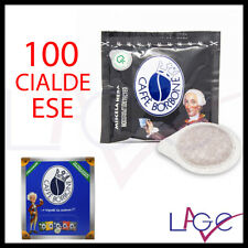 100 Cialde Caffè Borbone Nero di Filtro Carta ESE 44 mm Miscela Nera Compatibili