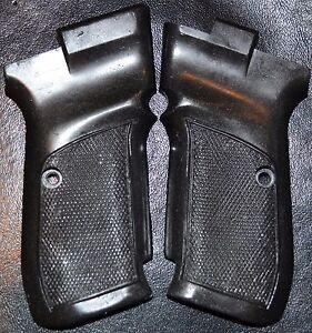 CZ 83 Pistol Grips Graphite Black plastic