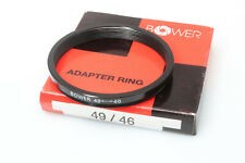 49mm-46mm Step Down Ring Metal Adapter by Bower - USA SELLER