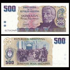 Argentina 500 Pesos, 1984, P-316, UNC