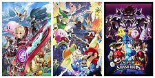 RGC Huge Poster- Super Smash Bros Posters SET Nintendo Wii U Melee Brawl SMASET1