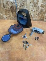 Star Wars Galoob Micro Machines DARTH VADER Head & loose figures lot and ship