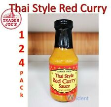 Trader Joe's Thai Red Curry Sauce 11 oz