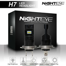 NIGHTEYE 2x H7 80W Car LED Fog Light Bulbs Headlight Driving Lamp 6500K White AU