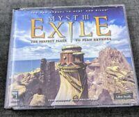 Myst III: Exile (Windows PC Mac 2001) 4 Disc - Ubi Soft - Riven - Myst 3