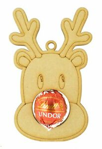 Christmas Bauble Lindt Chocolate Ball or Ferrero Rocher Holder Tree Decoration