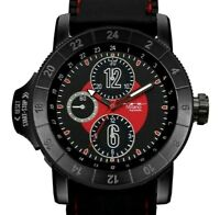 Mens Fashion Watch Milano MC46951, Black Silicone Band Water Resistant 1 ATM