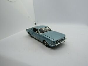 Maisto Blue 1967 Ford Mustang GT 1/24 Scale Car Free Shipping