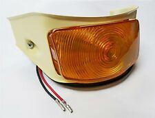 Parking Light Lamp 1955 Ford Pickup Truck + Turn Signal * CREAM RIM