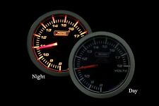 "45mm (1 3/4"") Oil Pressure Gauge Prosport Amber lighting -Brand New"