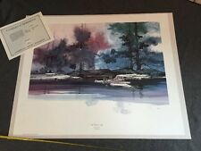 """Michael Atkinson  WATER'S EDGE S/# Lithograph Southwest  Edition1250 >30"""" 1993"""