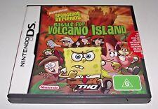 Spongebob Battle for Volcano Island Nintendo DS 2DS 3DS Game *Complete*
