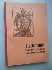 Kartomantie Psychotest und Prophetie durch symbolische Karten um 1950er?