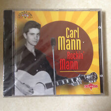 MANN, CARL - ROCKIN MANN BRAND NEW CD