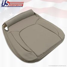 2004 2005 Dodge Ram 1500 Laramie Passenger Bottom Leather Seat Cover Taupe