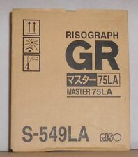Riso S-549LA  Master 75LA Rollen Risograph  für GR 1700 1750 2700 2710 2750 OVP