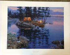 """Darrell Bush """"Breath of Spring"""" S/N Ltd Ed Print #982/1250"""