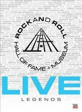 Rock and Roll Hall of Fame: Legends (DVD, 2010, 3-Disc Set) NEW/SEALED
