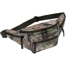Tree Camo Water-Repellent Fanny Pack, Mens Outdoor 5 Pocket Waist Belt Hip Bag