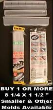 "Make your own SUSHI RICE MOLD Hosomaki press roll 8 1/4"" long plastic how to NEW"