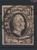 Sachsen 4I Pracht gestempelt 1851 Friedrich August (9158154