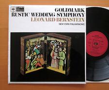 CBS 61069 Goldmark Rustic Wedding Symphony Bernstein 1969 NEAR MINT Stereo LP
